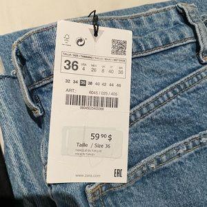 BRAND NEW wide leg Zara jeans